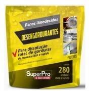 Pano Umedecido Superpro Desengordurante 280 Unidades Bettanin SP17101R