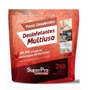 Pano Umedecido Superpro Desinfetante 280 Unidades Bettanin SP17100R