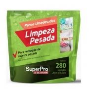 Pano Umedecido Superpro Limpeza Pesada 280 Unidades Bettanin SP17102R