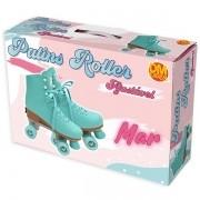 Patins Roller Ajustavel MAR 4 Rodas Tamanho P (31-34) DM TOYS DMR5867P