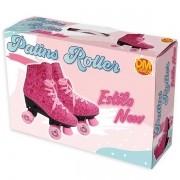 Patins Roller Estilo NEW Rosa 4 Rodas Tamanho 36 DM TOYS DMR5856 T36