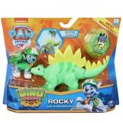 Patrulha Canina Figuras Dino ROCKY e Estegossauro SUNNY 2270