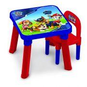 Patrulha Canina Mesa com Cadeira FUN 8343-2