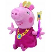 Pelucia Beanie Babies Peppa PIG Princesa DTC 4535