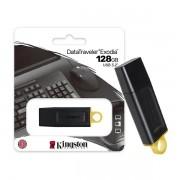 Pen Drive 128GB USB 3.2 DTX/128GB Data Traveler Exodia 128GB GEN 1 Kingston