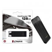 Pen Drive 128GB USB-C 3.2 Kingston DT70 Datatraveler 70 GEN 1