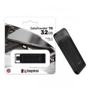 Pen Drive 32GB USB-C 3.2 Kingston DT70 Datatraveler GEN 1