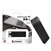 Pen Drive 64GB USB-C 3.2 Kingston DT70 Datatraveler GEN 1