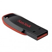 Pen Drive 8GB Sandisk Cruzer Blade Preto USB 2.0 FLASH Drive SDCZ50-008G-B35 T