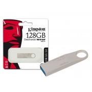 Pen Drive USB 3.0 Kingston DTSE9G2/128GB Datatraveler SE9 G2 128GB Prata
