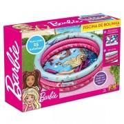 Piscina de Bolinhas Barbie Inflavel com 25 Bolinhas FUN F0000-3