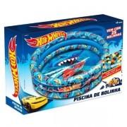 Piscina de Bolinhas HOT Wheels Inflavel com 25 Bolinhas FUN F0000-4