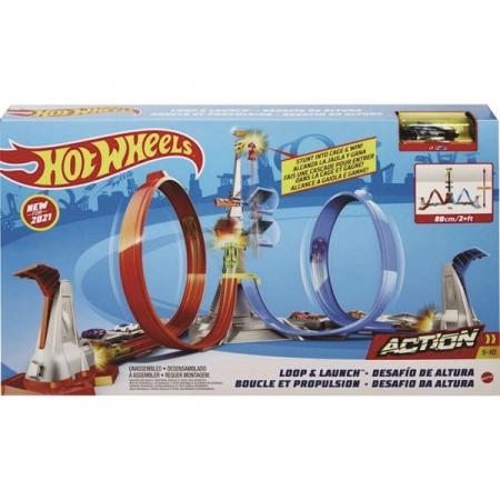 Pista HOT Wheels Desafio da Altura Mattel GRW39