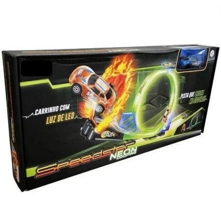 Pista Speedster Neon com Carrinho Polibrinq PK005