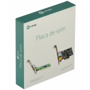 Placa de Som PCI 5.1 Canais LOW Profile - PS51-PCI Vinik 34814