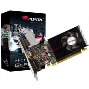 Placa de Video AFOX Geforce GT730 4GB DDR3 128 BITS HDMI DVI VGA  AF730-4096D3L6