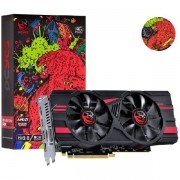 Placa de Video AMD Radeon RX 580 8GB GDDR5 256 BITS DUAL-FAN Graffiti Series - PJ580RX25608G5DF PCYES 32454