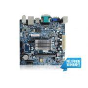 Placa Mae com Processador INTEL Centrium C2016-BSWI-D2-J3060 Dual Core 1.6GHZ HDMI Braswell M-ITX PPB OEM