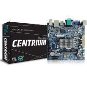 Placa Mae com Processador INTEL Centrium C2016-BSWI-D2-J3060 Dual Core 1.6GHZ HDMI Braswell M-ITX PPB BOX OEM