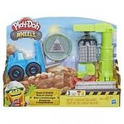 Play DOH Wheels Guindaste Empilhadeira Hasbro E5400 13945