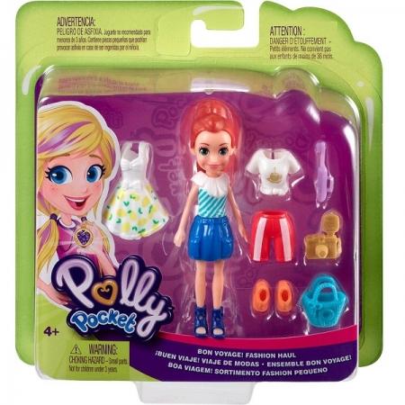 Polly Pocket Conjunto Boa Viagem Mattel GDM01