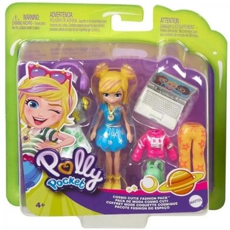 Polly Pocket Conjunto Fashion do Espaço Mattel GDM01