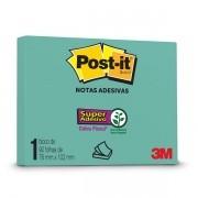 POST-IT AZUL Aqua 76MM X 102MM 90 Folhas 3M