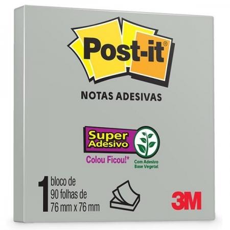 POST-IT GRIS 76MM X 76 MM 90 Folhas 3M
