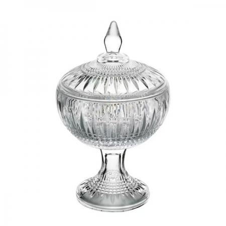 Potiche Decorativo Cristal com PE Queen 14X22CM WOLFF 28000