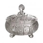 Potiche Versailles em Cristal D15,8XA8,7CM Delisoga L Hermitage 26179