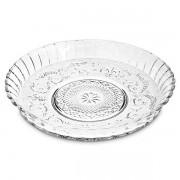 Prato em Vidro com Borda 30CM KIG Glassware PM3000