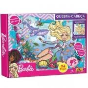 QUEBRA-CABEÇA 24 Peças Cartonada Barbie FUN 8688-7