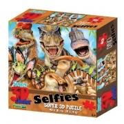 QUEBRA-CABEÇA 100 Peças 3D Dino Selfie Multikids BR1053