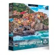 Quebra Cabeça 500 Peças Bella Italia Cinque Terre Game Office 2514