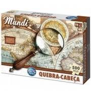 QUEBRA-CABECA 500 Peças Mundi Premium Pais e Filhos 7264