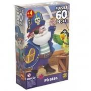 QUEBRA-CABEÇA 60 Piratas GROW 03923