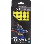 Refil NERF Rival 50 Projeteis Hasbro B3868 14807