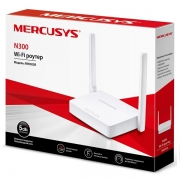 Roteador Wireless Mercusys MW301R (BR) N 300MBPS com 2 Antenas 5DBI