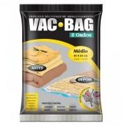 Saco para Armazenagem a Vacuo VAC BAG Medio 45X65 Ordene 55200