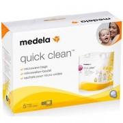 Sacos de Esterilizaçao em Microondas Quick Clean 5 Peças Medela 008.0041