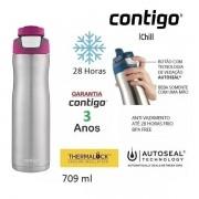 Squeeze Autoseal CHILL ACO INOX 709 ML Rosa BERRY Contigo 162520001713