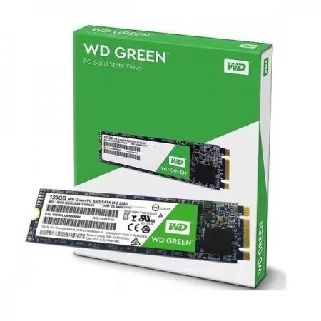SSD M2 120GB Western Digital WD Green WDS120G2G0B