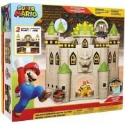Super Mario Playset Castelo Bowser Candide 3017