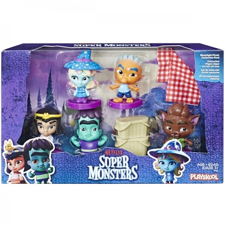 Super Monsters Colecionavel KIT Piquenique Noturno Hasbro E6068 13775