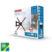 Suporte para TV de 10 a 55 Preto TRI-ARTICULADO Brasforma SBRP1040