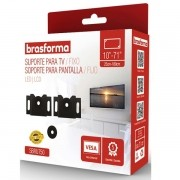 Suporte Universal para TV LED Preto 10 a 71 Brasforma SBRU750