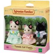Sylvanian Families Conjunto Familia dos Gatos Malhados EPOCH Magia 5306