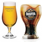 Taça Bohemia Pilsen + Copo Brahma BLACK Globimport