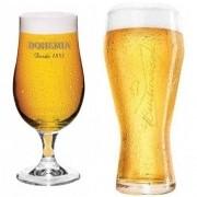 Taça Bohemia Pilsen + Copo Budweiser Globimport