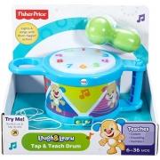 Tambor Aprender e Brincar Fisher Price Mattel DTM56 61471